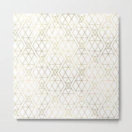 Modern Art Deco Geometric 1 Metal Print
