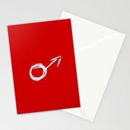 symbol of man 9 Chalk version Stationery Cards