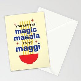 Magic Masala Stationery Cards