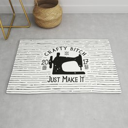 Crafty B*tch - SEW - Just Make It! Pure Handmade - Do It Yourself Rug