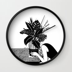 Tragedy makes you grow up Wall Clock