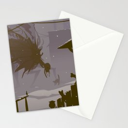 confrontation Stationery Cards
