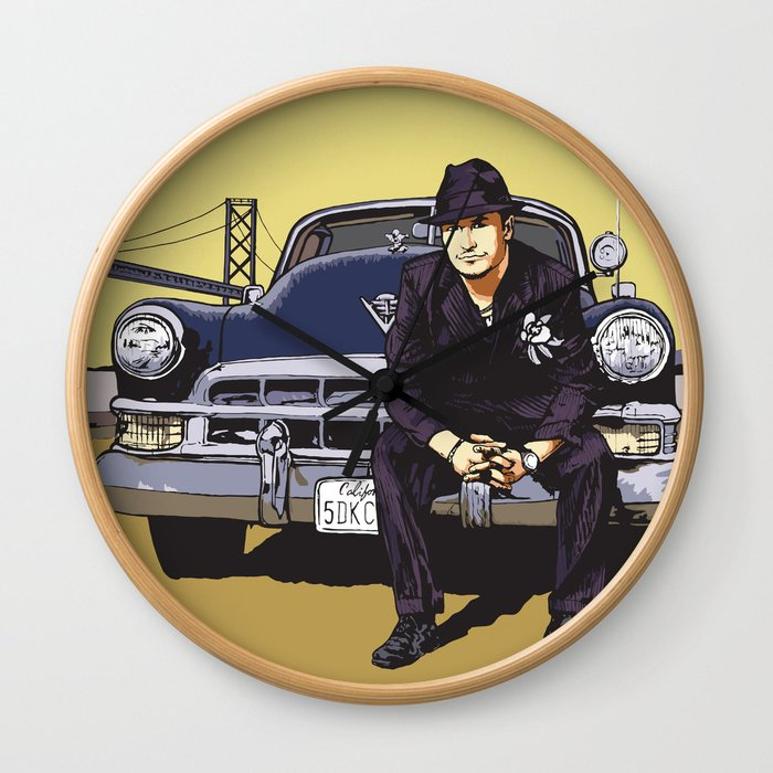 Mike Patton  / Mondo Cane / Faith No More / Mr Bungle Music Poster Wall Clock