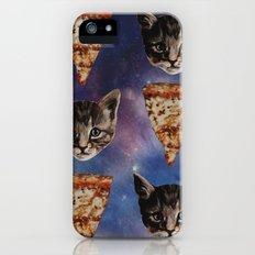 Kitten Pizza Galaxy  iPhone (5, 5s) Slim Case