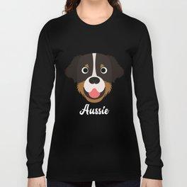 Aussie - Australian Shepherd Dog Long Sleeve T-shirt