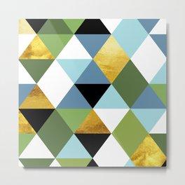 Geometric Abstract 81 Metal Print
