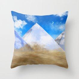 Desert Dweller Revalation Throw Pillow