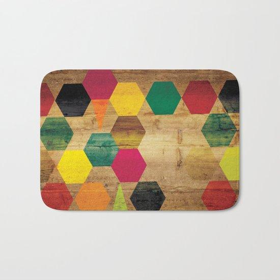 Wood Prints Bath Mat