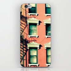 Orange Houses, New York iPhone & iPod Skin