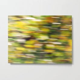 Autumn wind (abstract) Metal Print