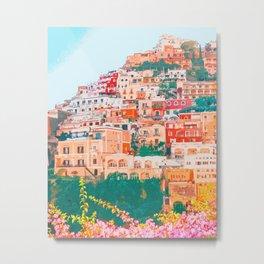 Positano, beauty of Italy Metal Print