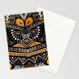 Tribal Festival Noir Stationery Cards