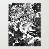 rorschach Canvas Prints featuring Rorschach by Alter Ego