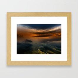 Gloomy Sky 0016 Framed Art Print