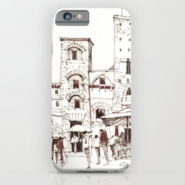 San Gimignano 1 iPhone Case