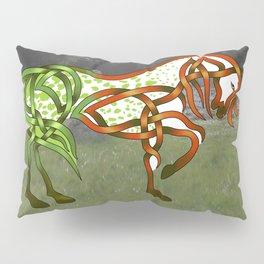Celtic Knot Horse Pillow Sham