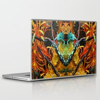 chameleon Laptop & iPad Skins featuring Chameleon by Geni