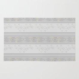 Grey stripes . Rug