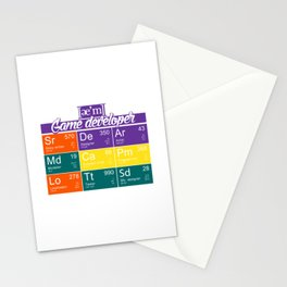 ae'm Game developer Stationery Cards