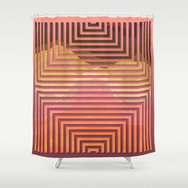 TOPOGRAPHY 2017-015 Shower Curtain