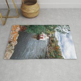 Riverboat in Minnesota-Fall Colors Rug