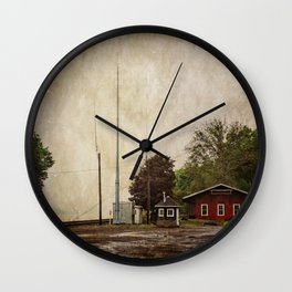 Milton Historic Railway Station Wall Clock