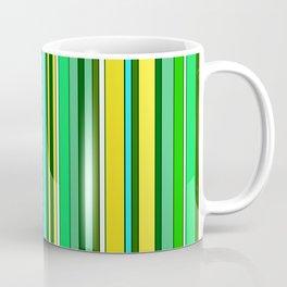 GREEN SPRING STRIPES Coffee Mug