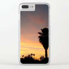Dusk in Tempe Clear iPhone Case