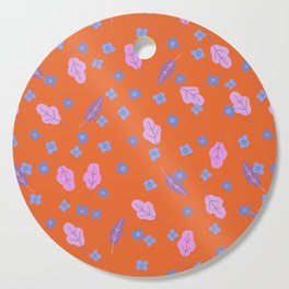Forget Me Not Cutting Board