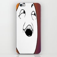 meme iPhone & iPod Skins featuring meme face by tmurriam