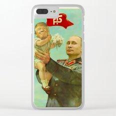 Trump Putin Clear iPhone Case