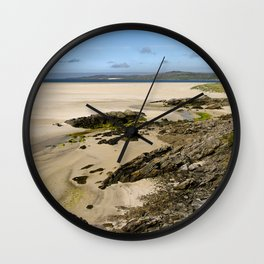 Luskentyre Beach Wall Clock