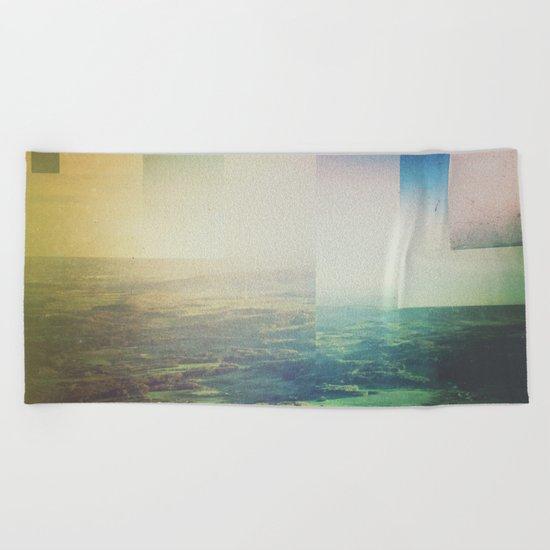 Fractions A24 Beach Towel