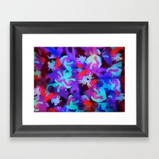 Experimental Abstraction: Part II Framed Art Print