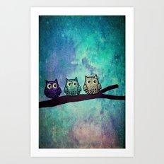 owl-45 Art Print