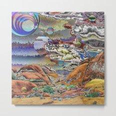 Joshua Tree Visions Metal Print