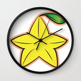 Paopu Fruit : Kingdom Hearts Wall Clock