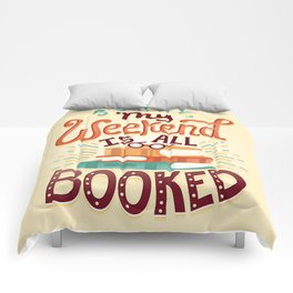 I'm booked Comforters