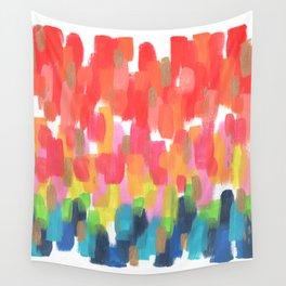 Neon Rainbow Wall Tapestry