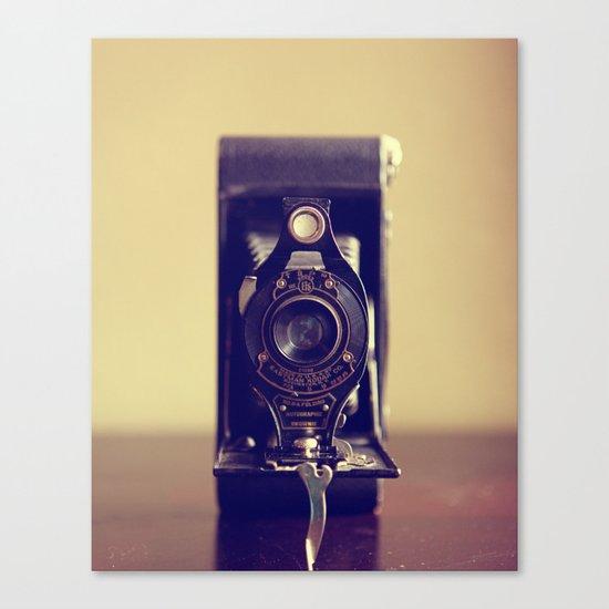 The Vintage Camera Canvas Print