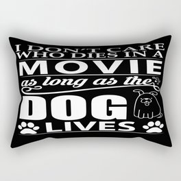 Movie Dog Rectangular Pillow