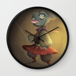 Petite Musketeer Wall Clock