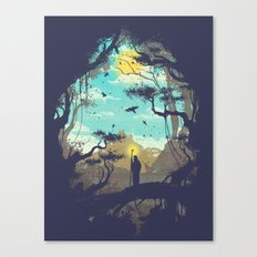 The Guardian Of The Sun Canvas Print