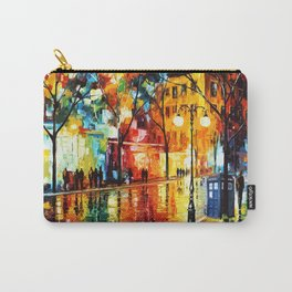 Tardis Always Stay On The Street Carry-All Pouch
