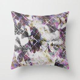 Broken fortune Throw Pillow