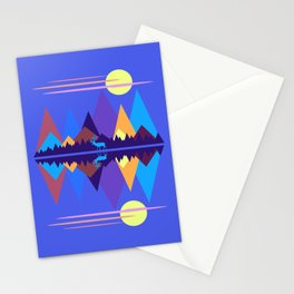 Mountain Scene #2 Stationery Cards