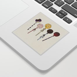 C is for Cake Pops Sticker