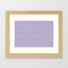 Japanese Dots Fade UltraViolet Framed Art Print