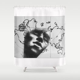 Introspection (Awakening Voyages) Shower Curtain
