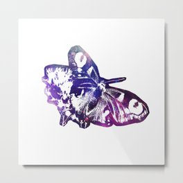 Galaxy butterfly Metal Print